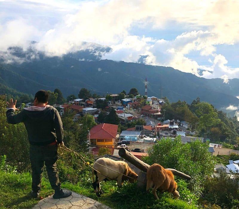 mountain town of San Jose del Pacifico, Oaxaca Mexico