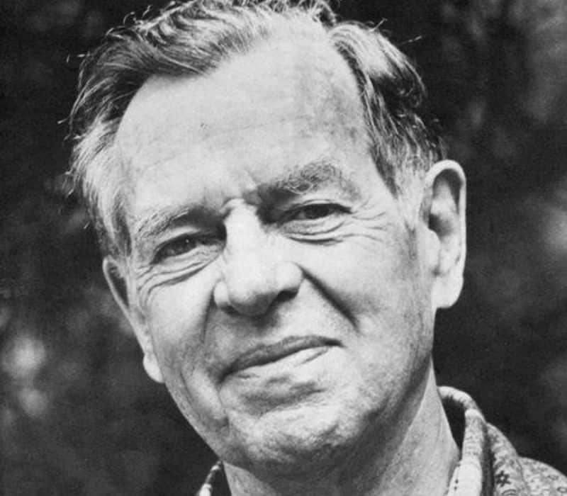 Joseph Campbell black & white head shot