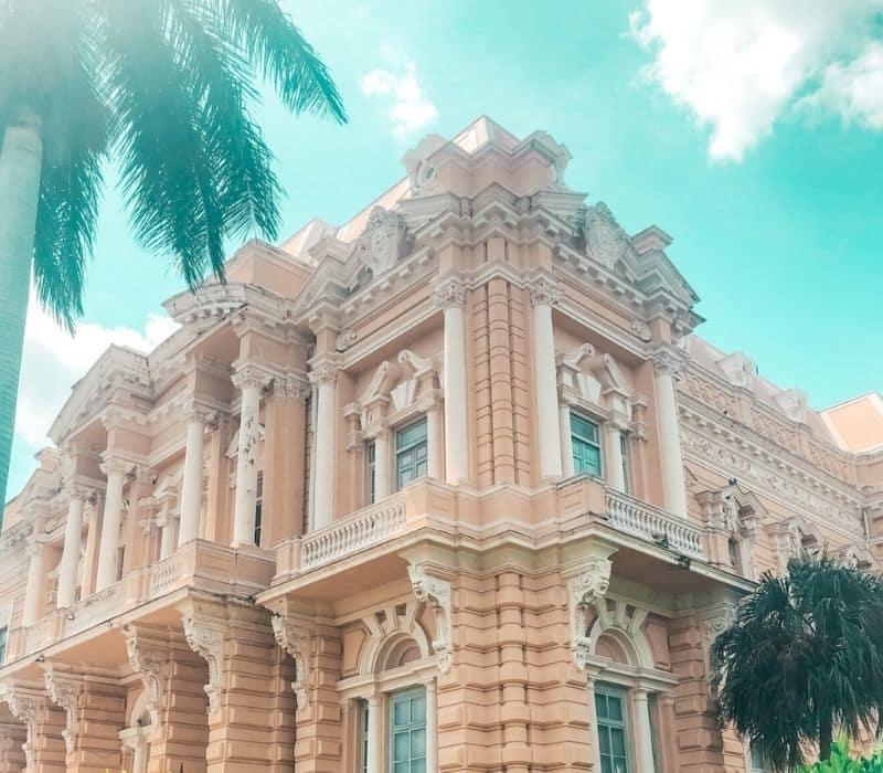 Historic large European-style building