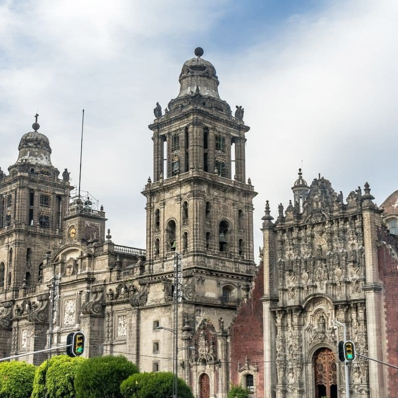 Mexico's grand Catedral Metropolitana