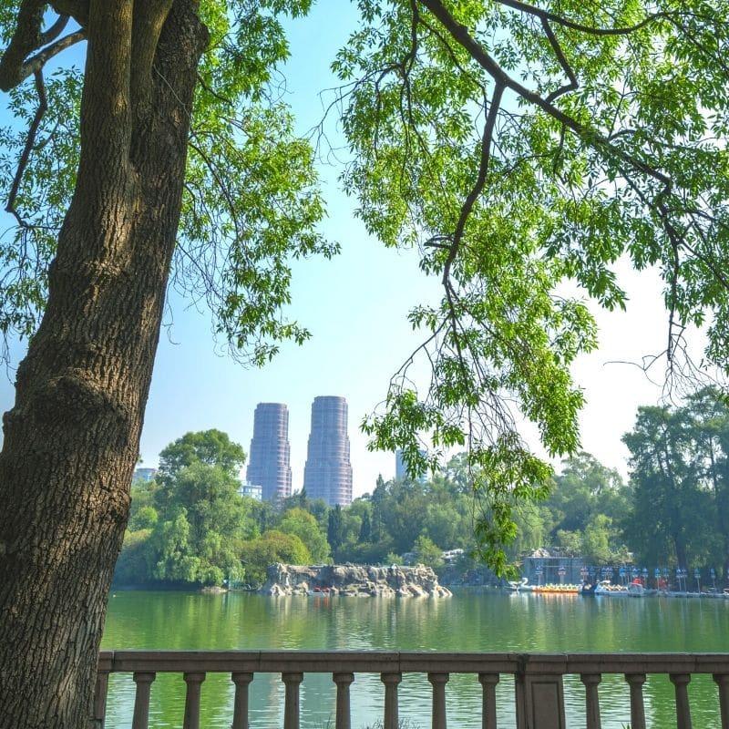 Lake at Chapultepec Park