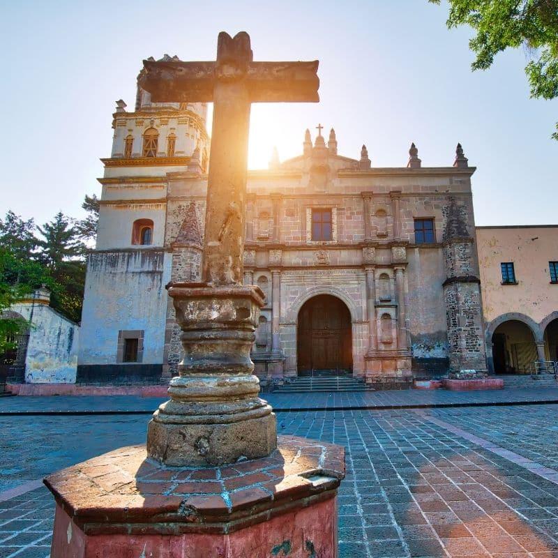 grand church in Mexico