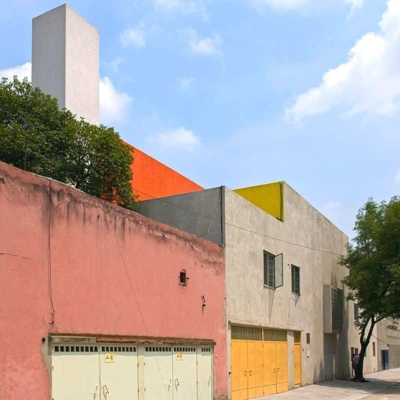 modern designed house by Luis Barragan