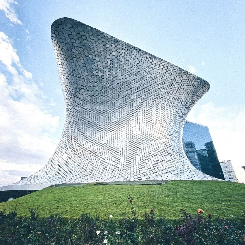 Mirrored Soumaya Museum