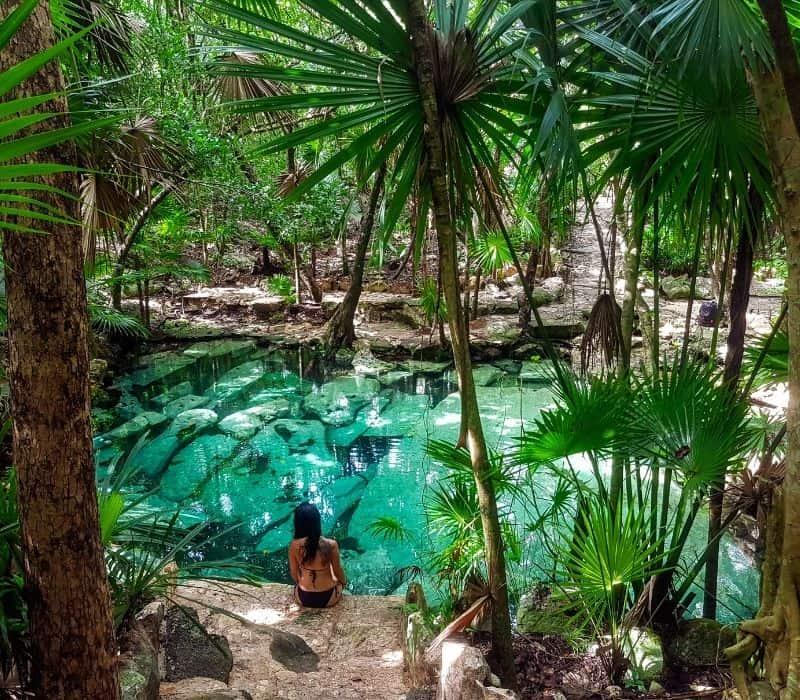 Cenote Azul in Tulum