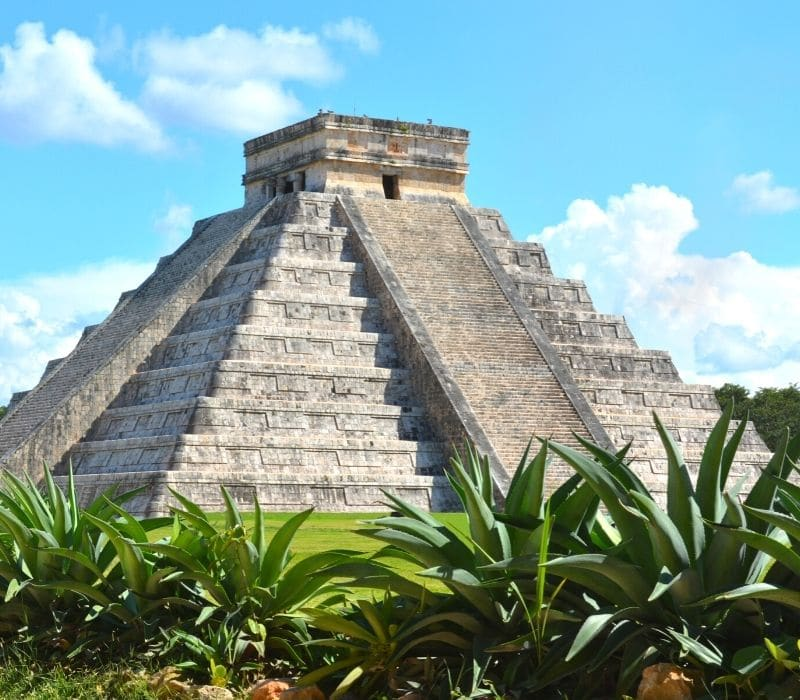 chichen itza, a mayan pyramid and wonder of the world - day trips from Merida