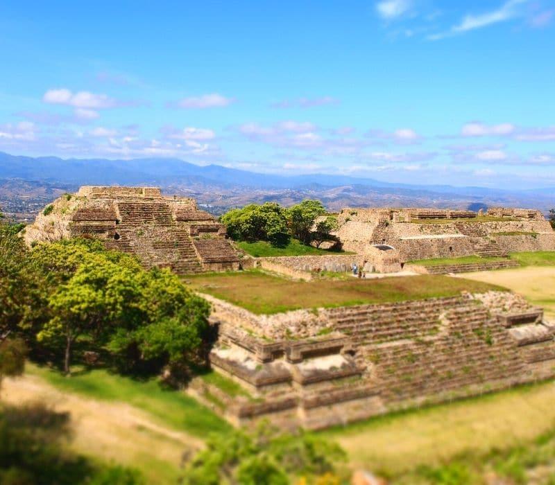 monte alban pyramids oaxaca travel mexico