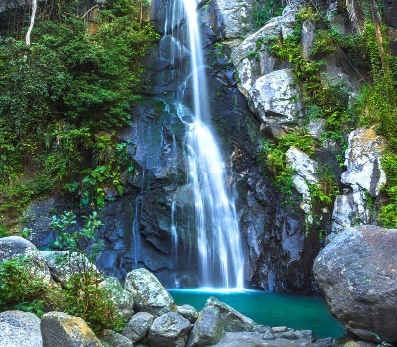 yelapa waterfall in the jungle of yelapa, mexico | things to do in puerto vallarta mexico