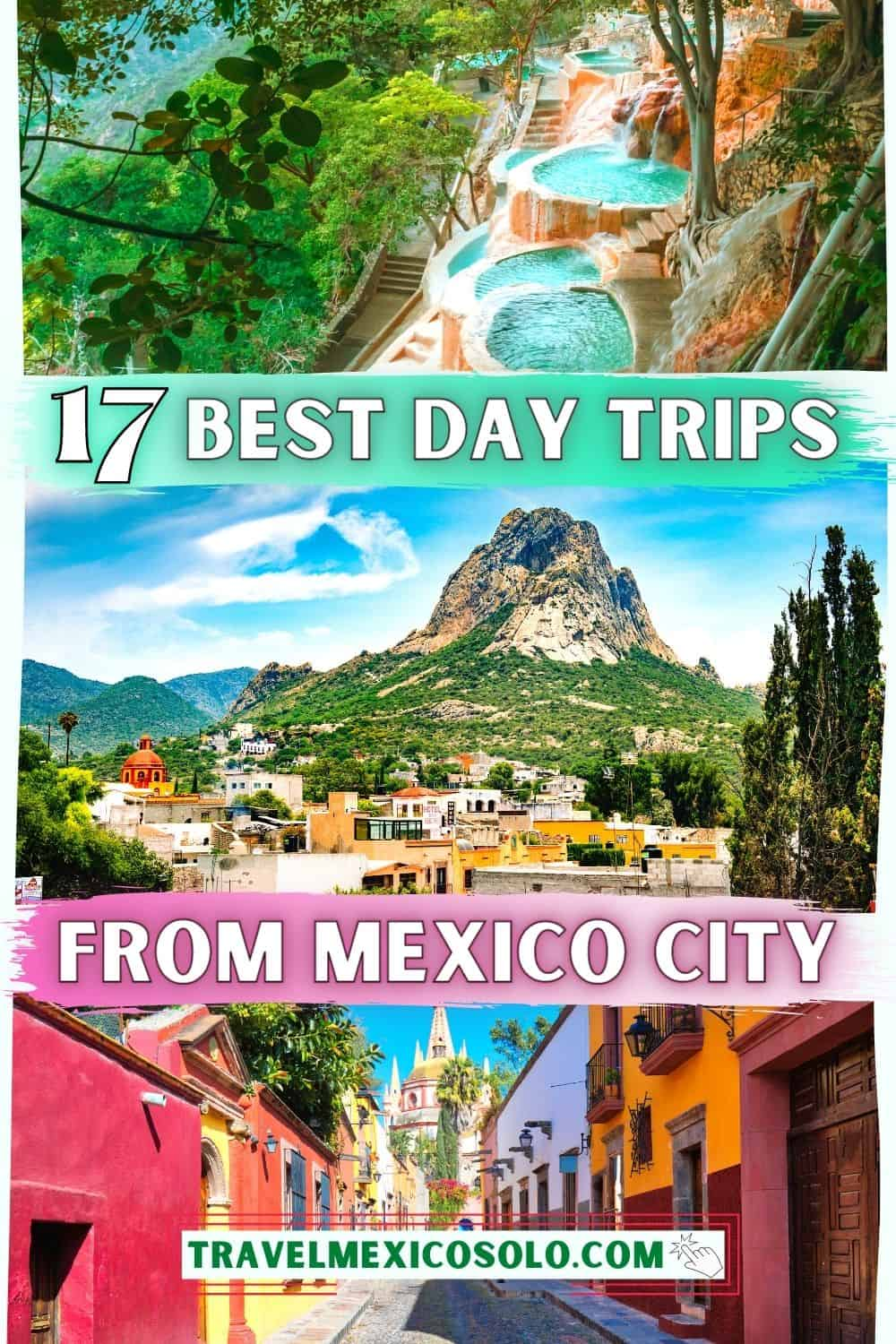 day trips from mexico city